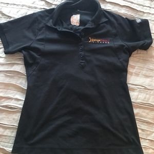 Orangetheory Fitness Black Polo